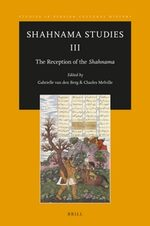 Cover Shahnama Studies III