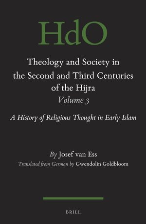 Cover Theology and Society in the Second and Third Centuries of the Hijra. Volume 3
