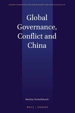 Cover Global Governance, Conflict and China