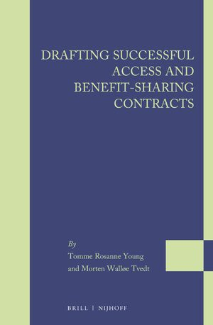 Cover Drafting Successful Access and Benefit-sharing Contracts