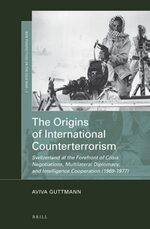 Cover The Origins of International Counterterrorism