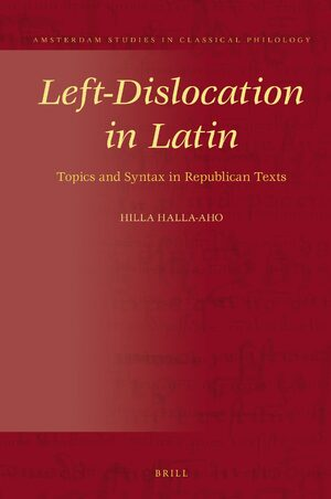 Cover Left-Dislocation in Latin