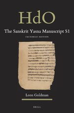 Cover The Sanskrit Yasna Manuscript S1