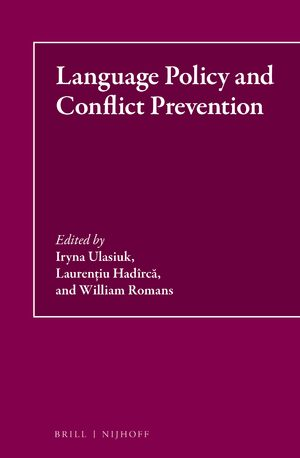 Cover Language Policy and Conflict Prevention
