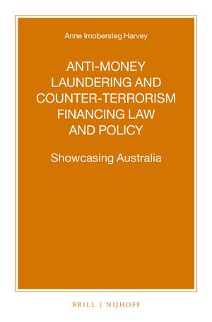 Cover Anti-money Laundering and Counter-terrorism Financing Law and Policy