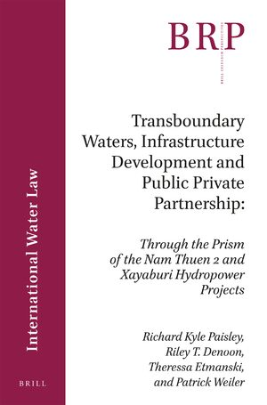 Cover Transboundary Waters, Infrastructure Development and Public Private Partnership
