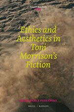 Cover Ethics and Aesthetics in Toni Morrison's Fiction