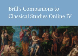 Cover Brill's Companions to Classical Studies Online IV