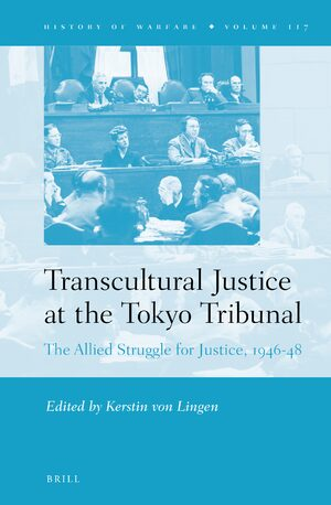 Cover Transcultural Justice at the Tokyo Tribunal
