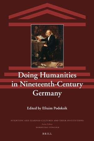 Cover Doing Humanities in Nineteenth-Century Germany