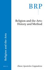 Cover Religion and the Arts: History and Method