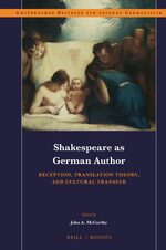 Cover Shakespeare as German Author