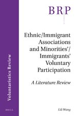 Cover Ethnic/Immigrant Associations and Minorities'/Immigrants' Voluntary Participation