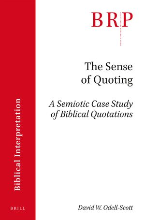 Cover The Sense of Quoting