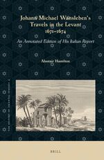 Cover Johann Michael Wansleben's Travels in the Levant, 1671-1674