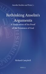 Cover Rethinking Anselm's Arguments