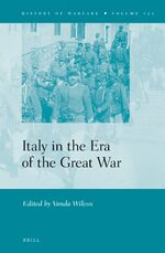 Cover Italy in the Era of the Great War