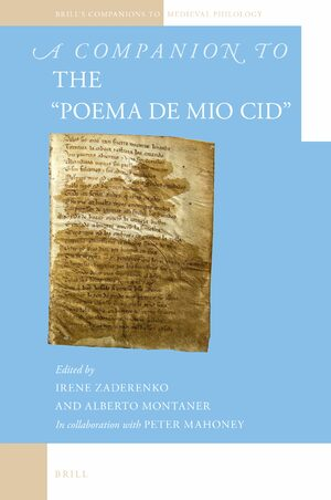 Cover A Companion to the <i>Poema de mio Cid</i>