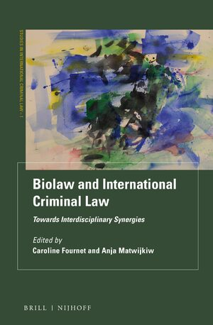 Cover Biolaw and International Criminal Law