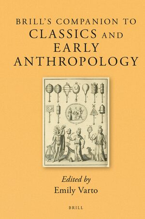 Cover Brill's Companion to Classics and Early Anthropology