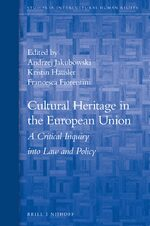 Cover Cultural Heritage in the European Union