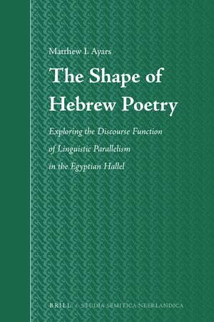 Psalm 117 in: The Shape of Hebrew Poetry