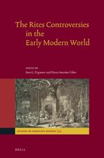 Cover The Rites Controversies in the Early Modern World