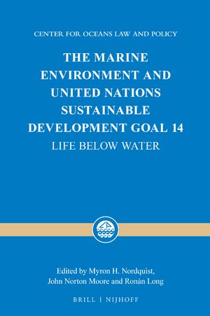 Cover The Marine Environment and United Nations Sustainable Development Goal 14