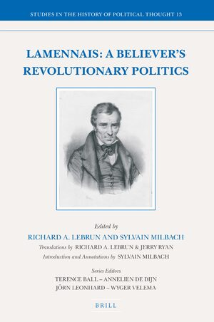 Cover Lamennais: A Believer's Revolutionary Politics