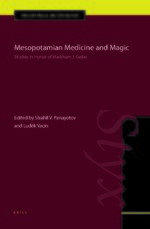 Cover Mesopotamian Medicine and Magic