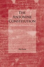 Cover The Antonine Constitution