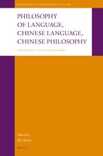 Cover Philosophy of Language, Chinese Language, Chinese Philosophy