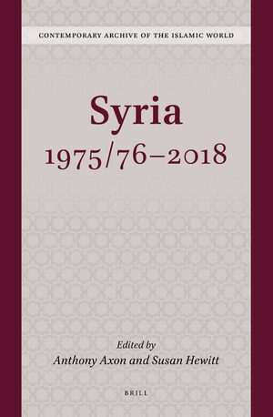 Cover Syria 1975/76-2018