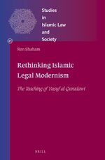Cover Rethinking Islamic Legal Modernism