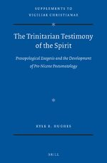 Cover The Trinitarian Testimony of the Spirit