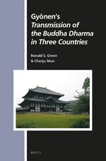Cover Gyōnen's <i>Transmission of the Buddha Dharma in Three Countries</i>