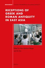 Cover Receptions of Greek and Roman Antiquity in East Asia