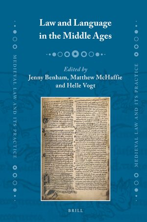 Law and Language in the Middle Ages