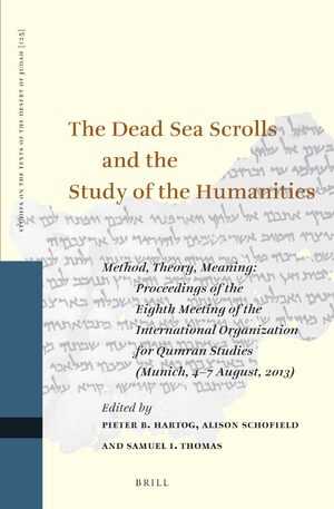 Cover The Dead Sea Scrolls and the Study of the Humanities