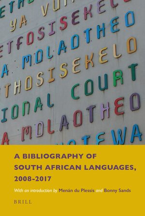 Cover A Bibliography of South African Languages, 2008-2017