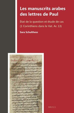 Cover Les manuscrits arabes des lettres de Paul