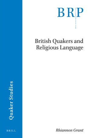 British Quakers and Religious Language in: British Quakers