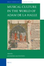 Cover Musical Culture in the World of Adam de la Halle