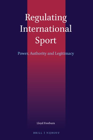 Cover Regulating International Sport