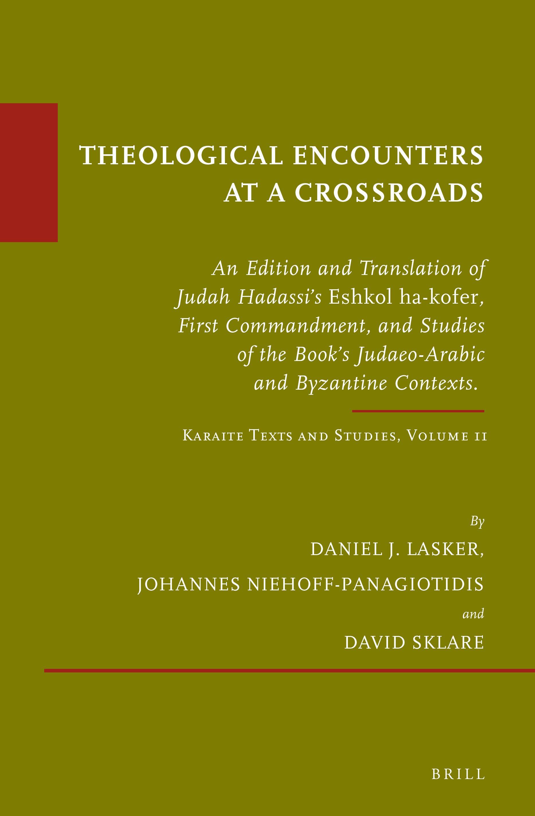 Judah Hadassi And The Greek Language In Twelfth Century