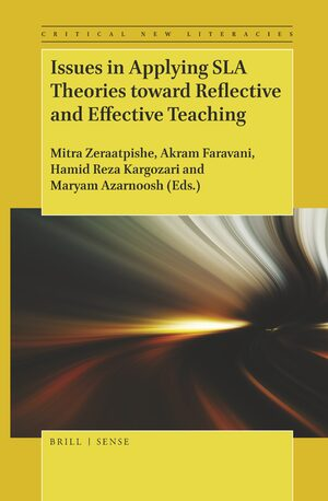 Cover Issues in Applying SLA Theories toward Reflective and Effective Teaching