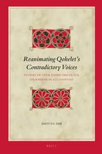 Cover Reanimating Qohelet's Contradictory Voices