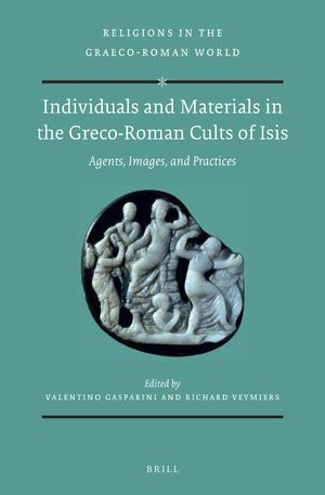 Cover Individuals and Materials in the Greco-Roman Cults of Isis (SET)