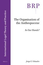 Cover The Organisation of the Anthropocene