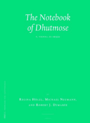 The Notebook of Dhutmose